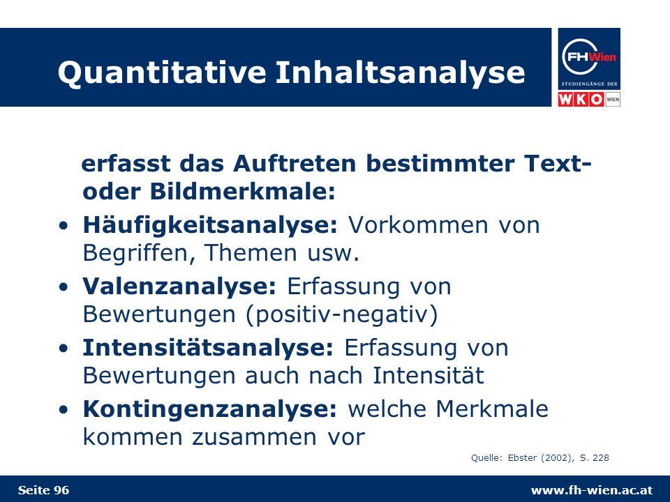 Quantitative Inhaltsanalyse