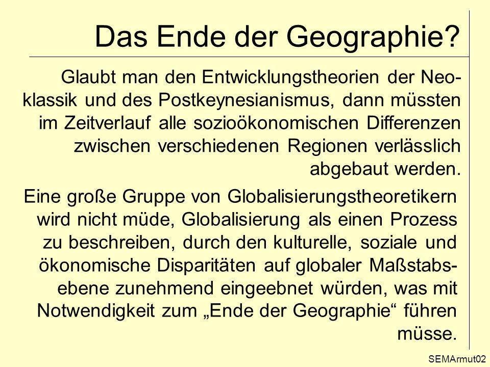 Das Ende der Geographie