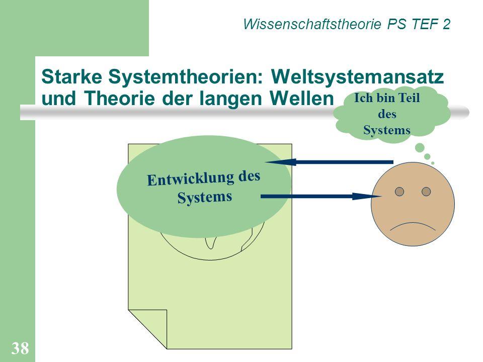 Starke Systemtheorien: Weltsystemansatz und Theorie der langen Wellen