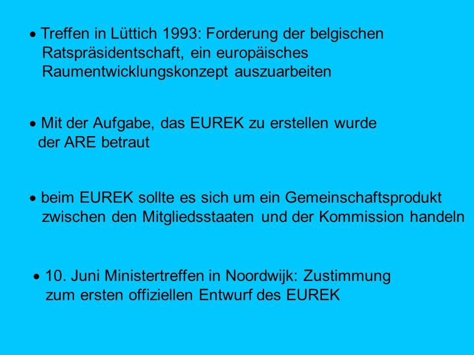 Treffen in Lüttich 1993: Forderung der belgischen