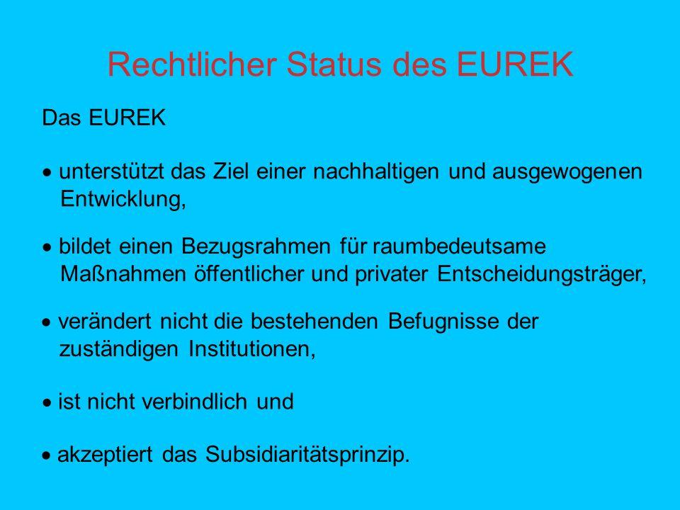 Rechtlicher Status des EUREK