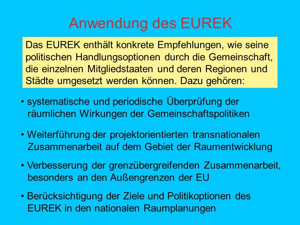 Anwendung des EUREK