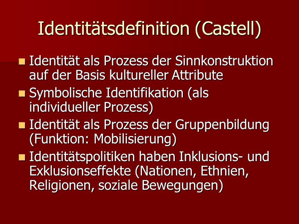 Identitätsdefinition (Castell)