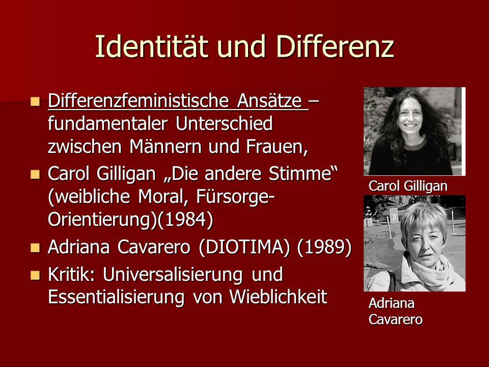 Identität und Differenz