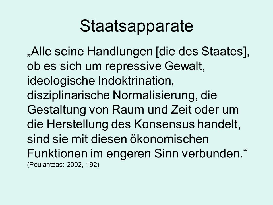 Staatsapparate