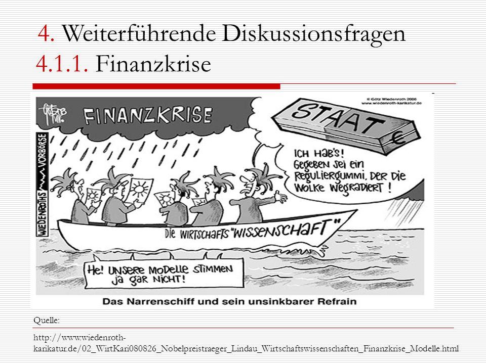 4. Weiterführende Diskussionsfragen 4.1.1. Finanzkrise