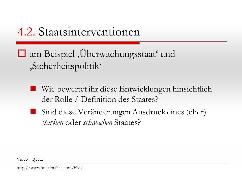 4.2. Staatsinterventionen