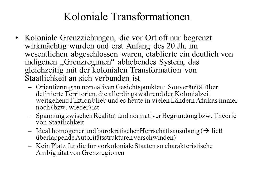 Koloniale Transformationen