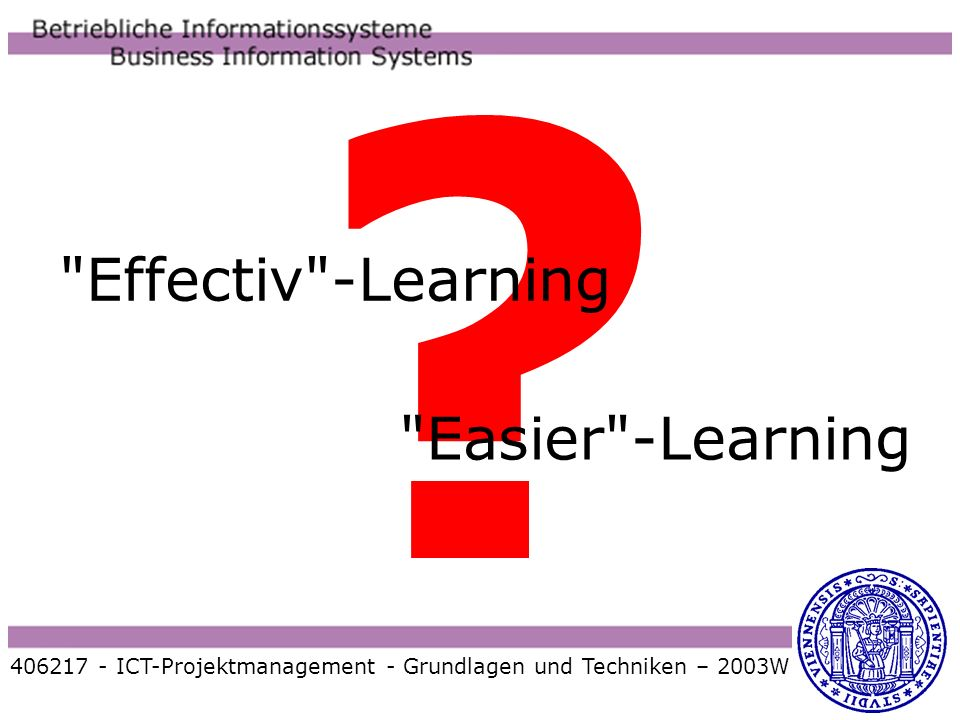 Effectiv -Learning Easier -Learning