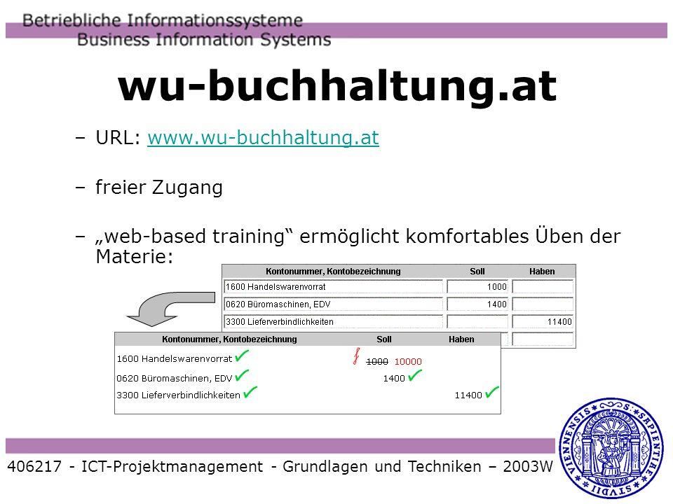 wu-buchhaltung.at URL: www.wu-buchhaltung.at freier Zugang