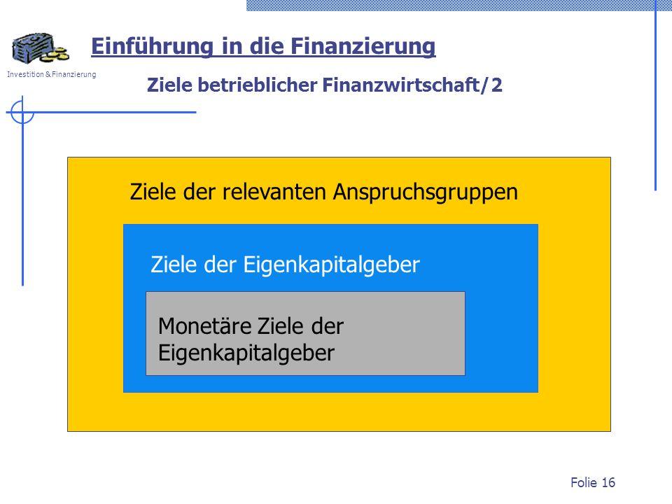 Ziele betrieblicher Finanzwirtschaft/2