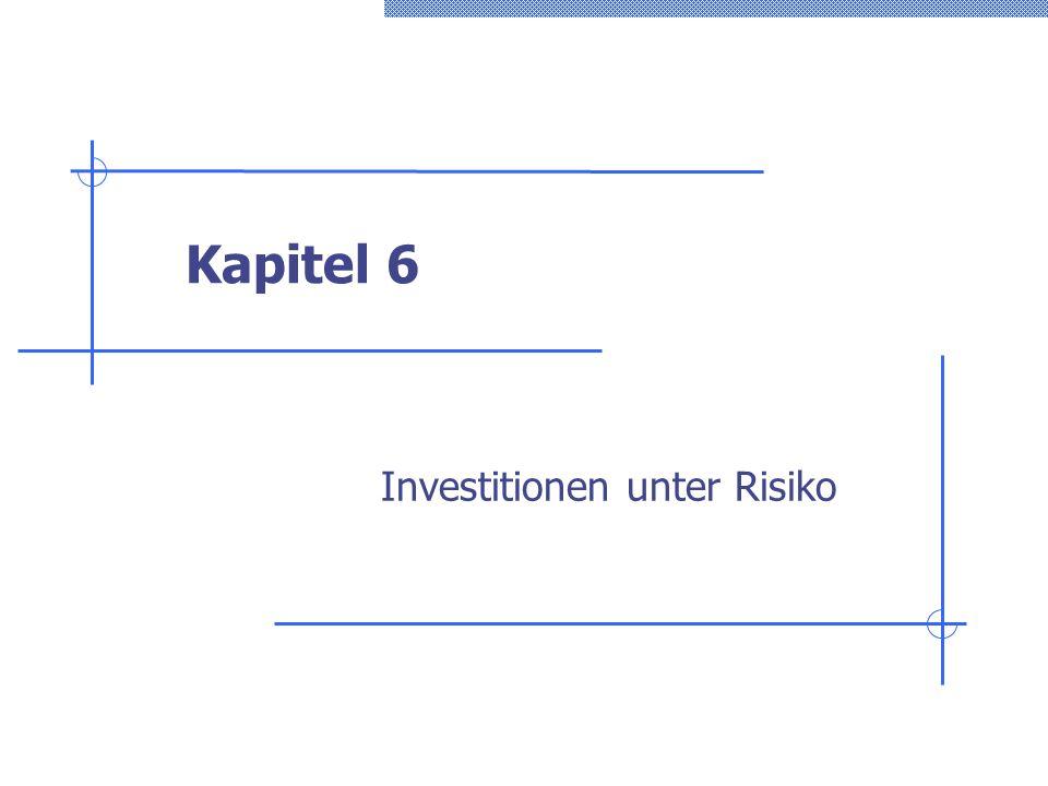 Investitionen unter Risiko