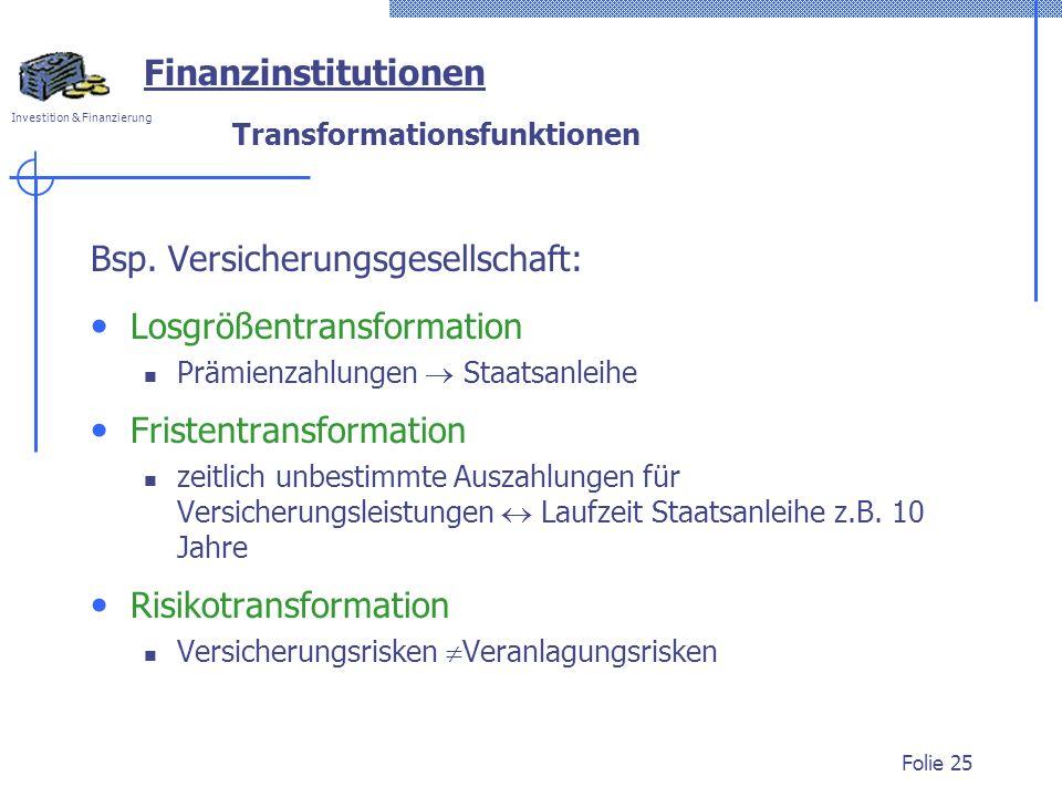 Transformationsfunktionen
