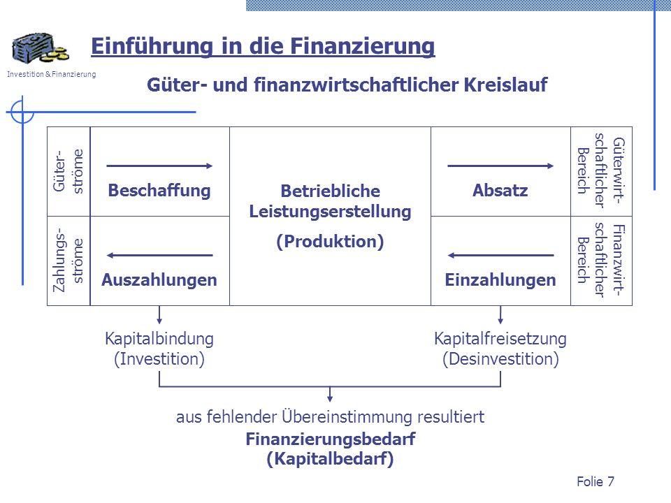 Güter- und finanzwirtschaftlicher Kreislauf