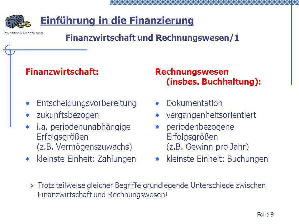 Finanzwirtschaft und Rechnungswesen/1