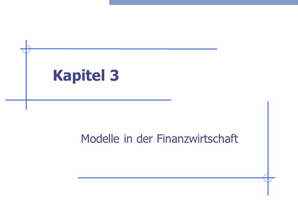 Modelle in der Finanzwirtschaft