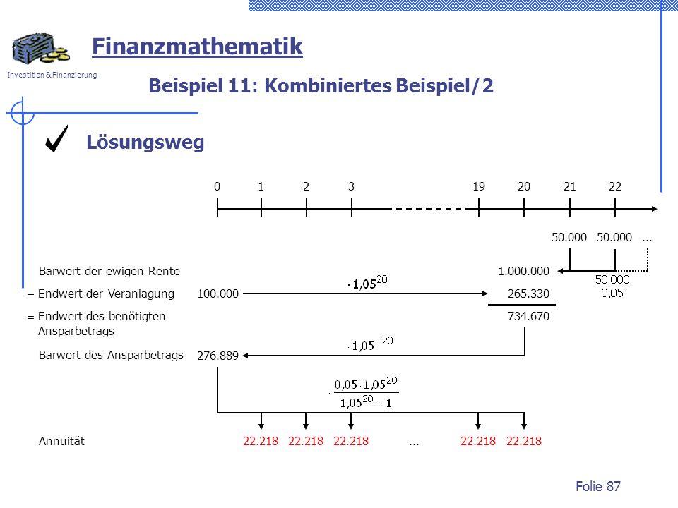 Beispiel 11: Kombiniertes Beispiel/2