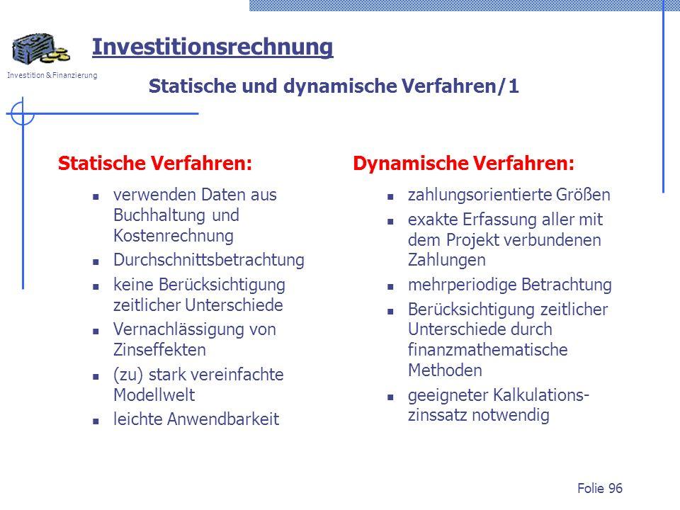 Statische und dynamische Verfahren/1
