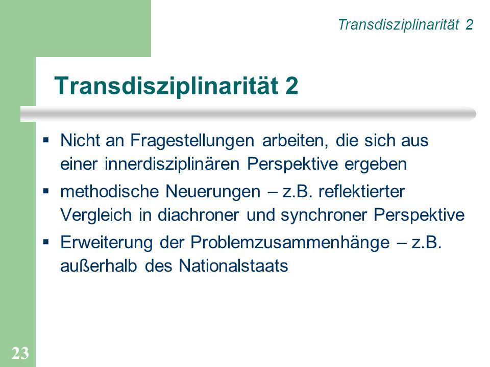 Transdisziplinarität 2