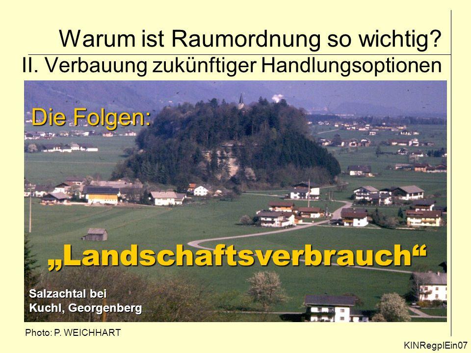 """Landschaftsverbrauch"