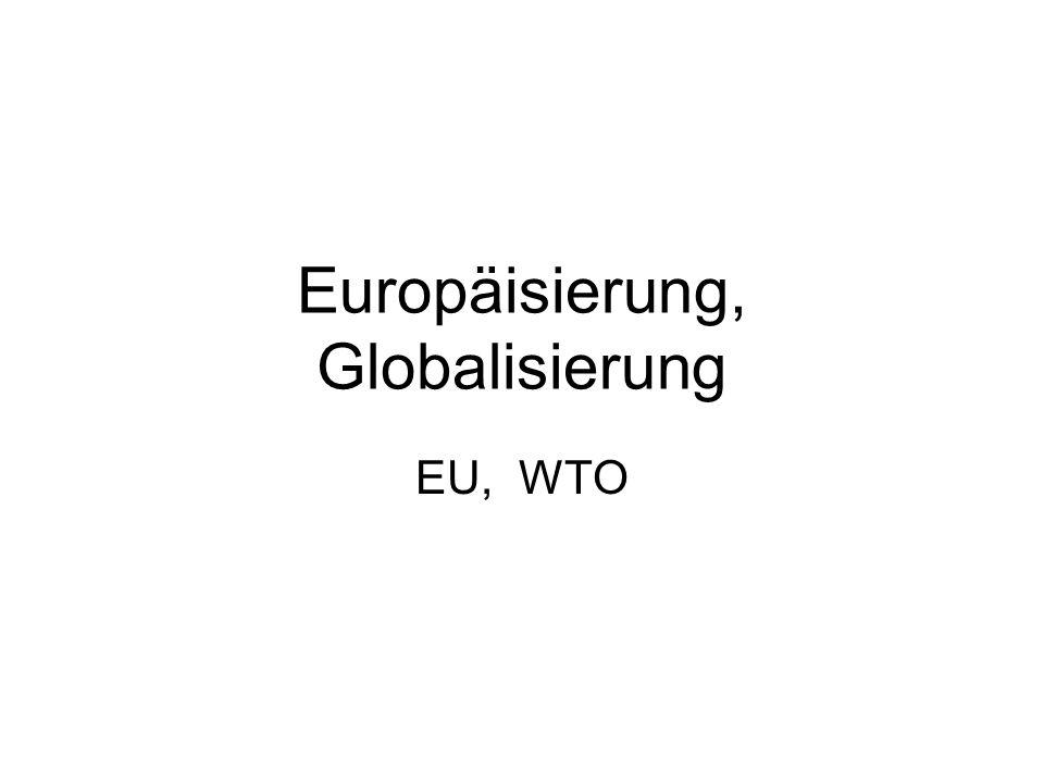 Europäisierung, Globalisierung