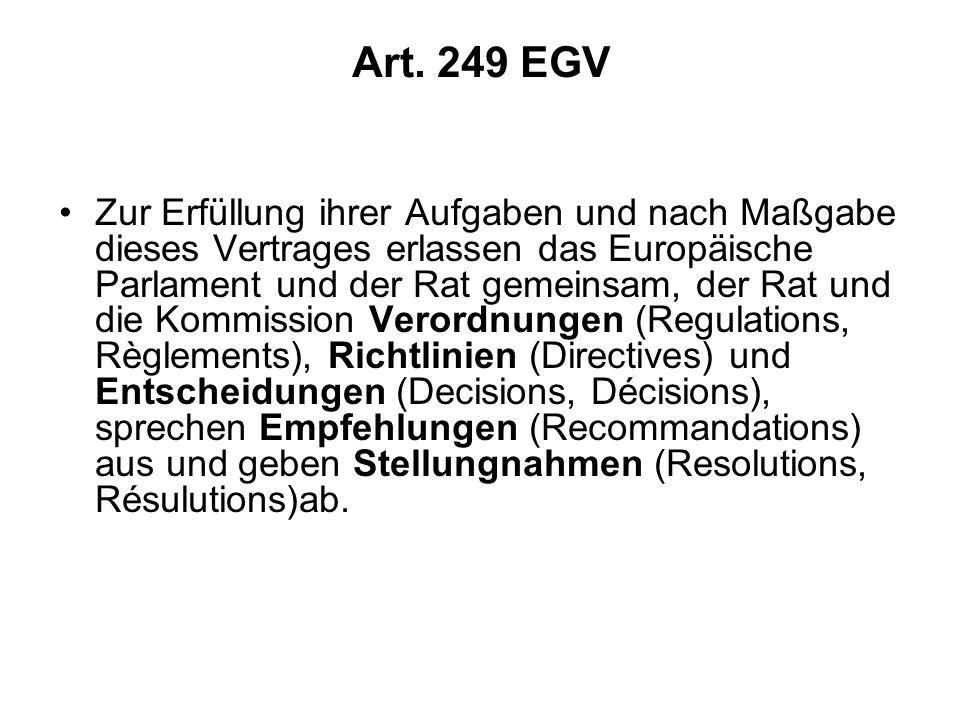Art. 249 EGV