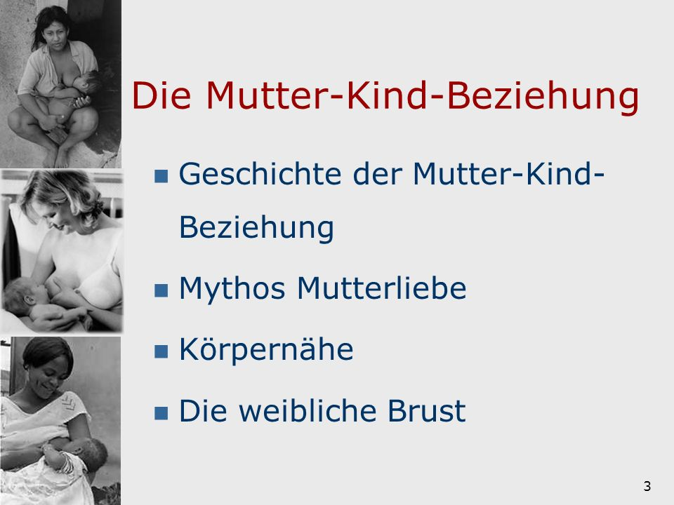 Die Mutter-Kind-Beziehung