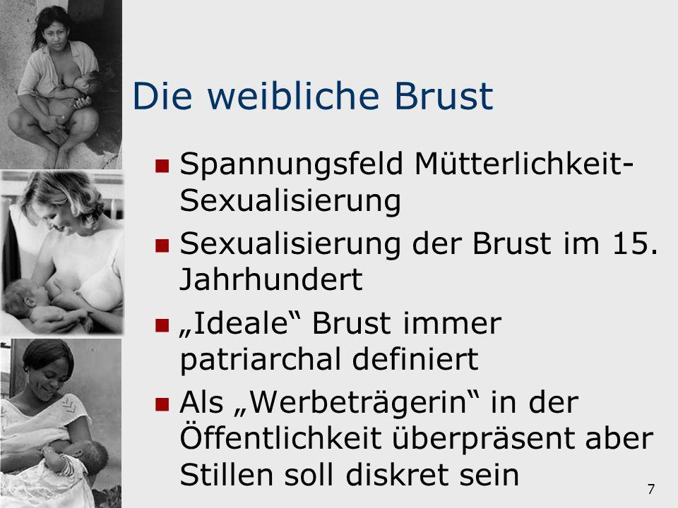 Die weibliche Brust Spannungsfeld Mütterlichkeit-Sexualisierung