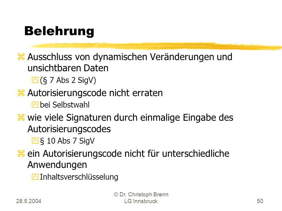 © Dr. Christoph Brenn LG Innsbruck