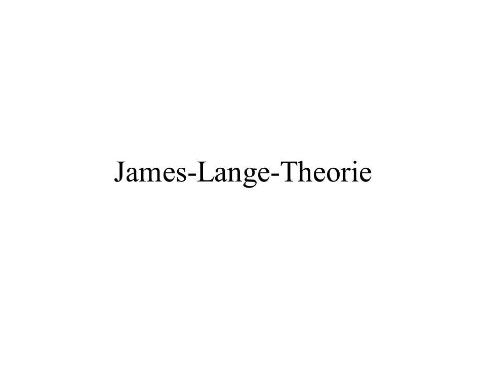 James-Lange-Theorie