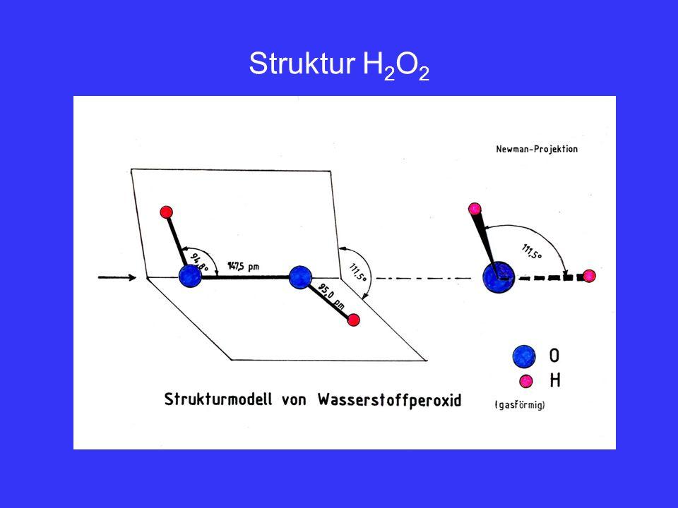 Struktur H2O2