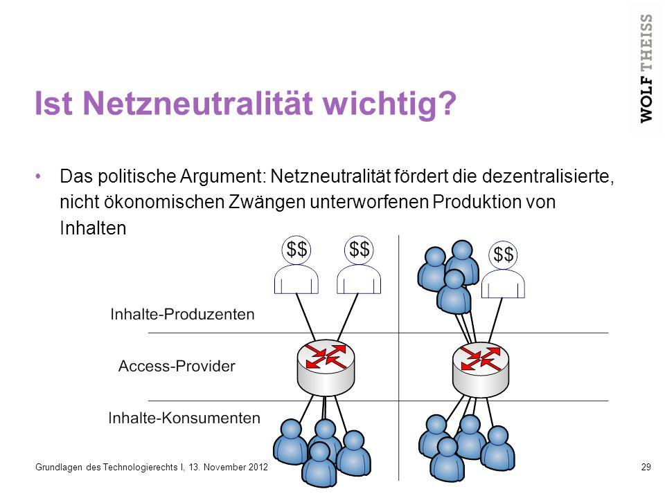 Ist Netzneutralität wichtig