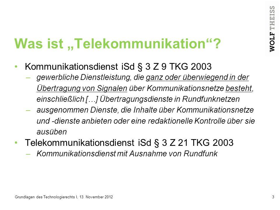 """Was ist """"Telekommunikation"""