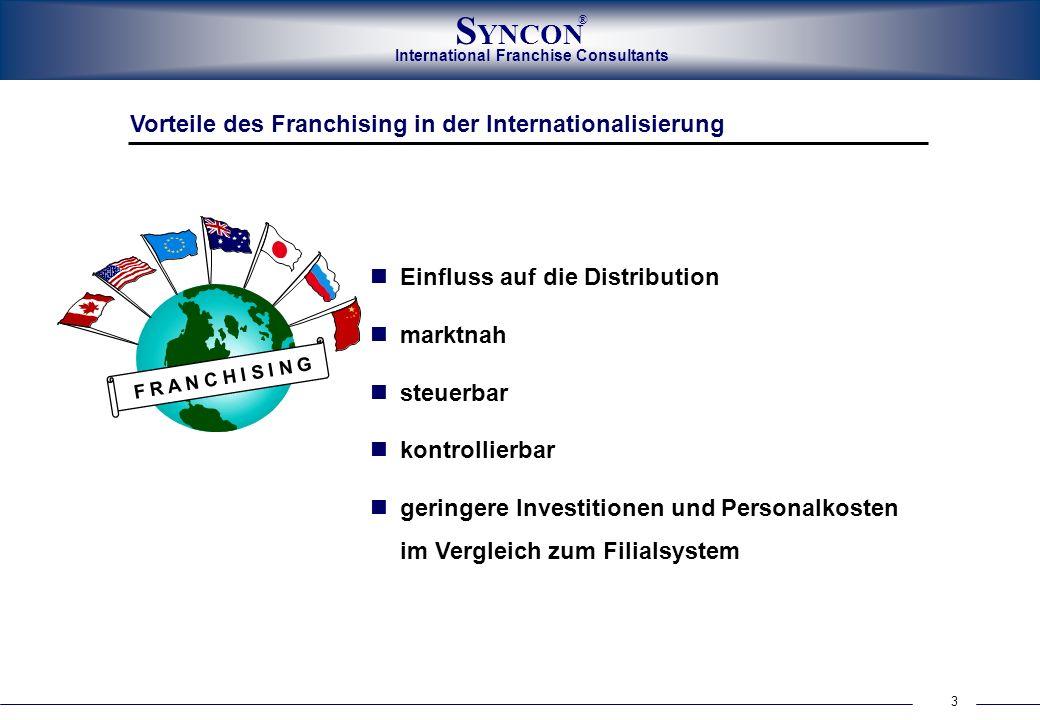 Vorteile des Franchising in der Internationalisierung