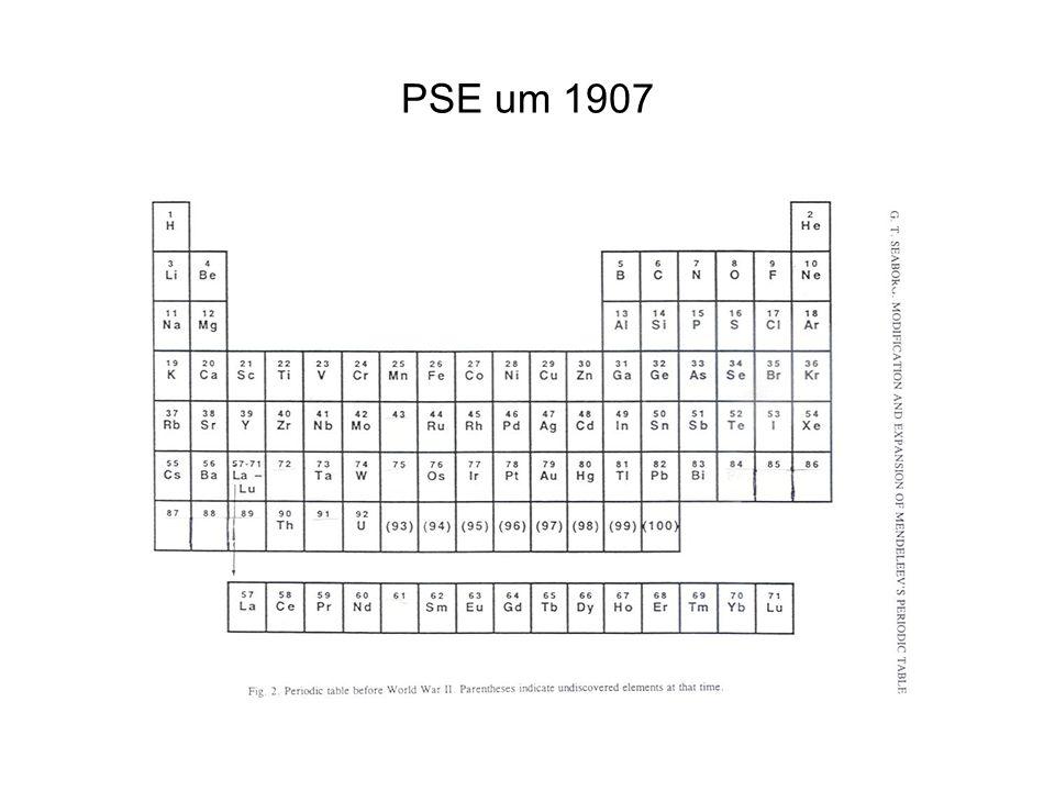 PSE um 1907