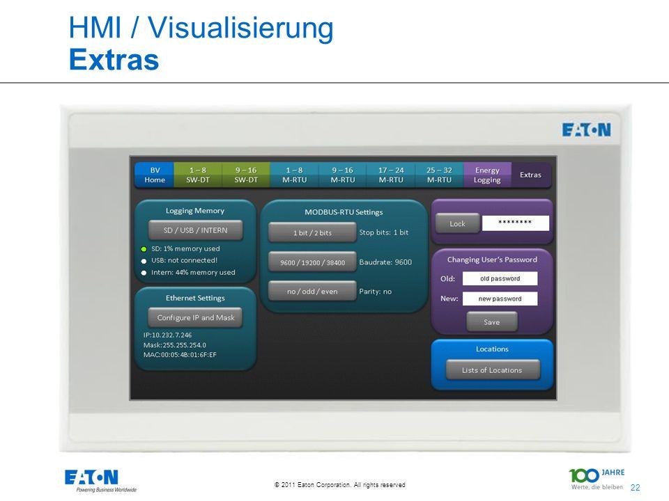 HMI / Visualisierung Extras