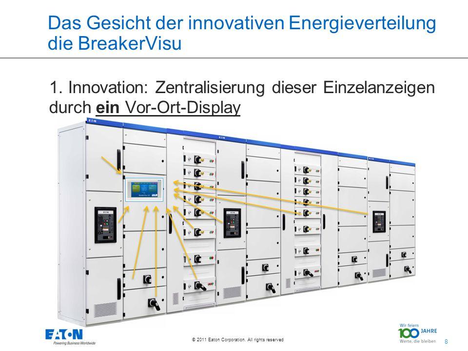 Das Gesicht der innovativen Energieverteilung die BreakerVisu