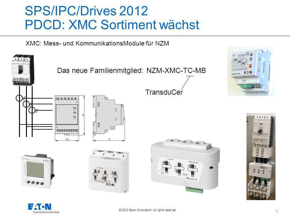 SPS/IPC/Drives 2012 PDCD: XMC Sortiment wächst