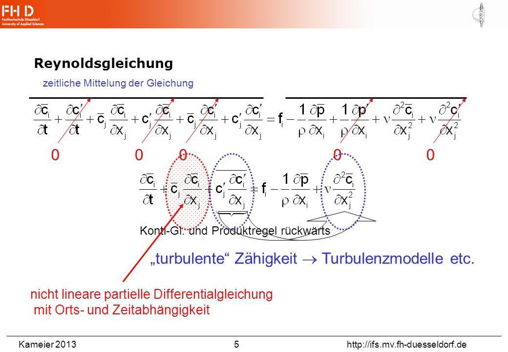 Turbulenzmodellierung