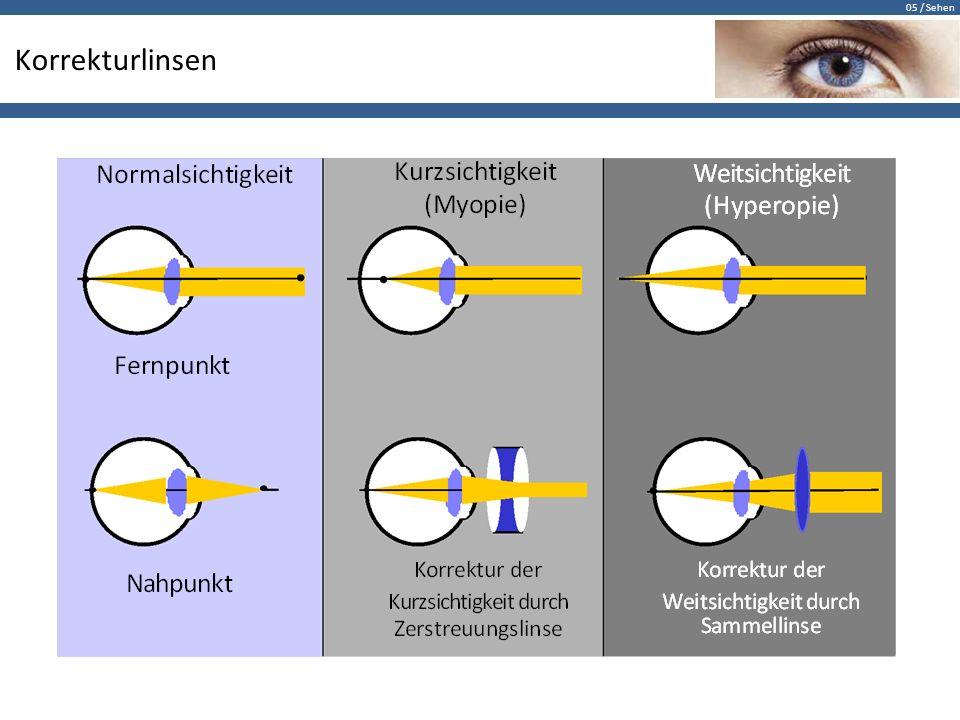 Korrekturlinsen