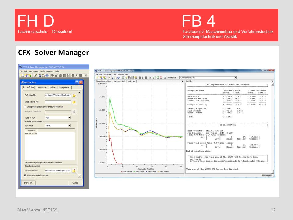 CFX- Solver Manager Oleg Wenzel 457159