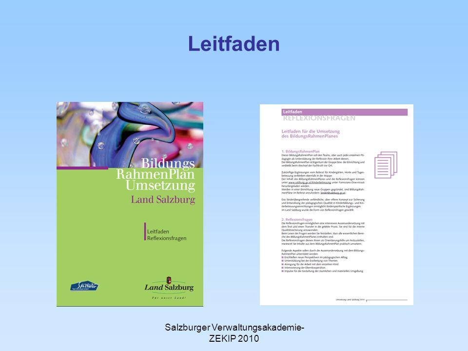 Salzburger Verwaltungsakademie-ZEKIP 2010