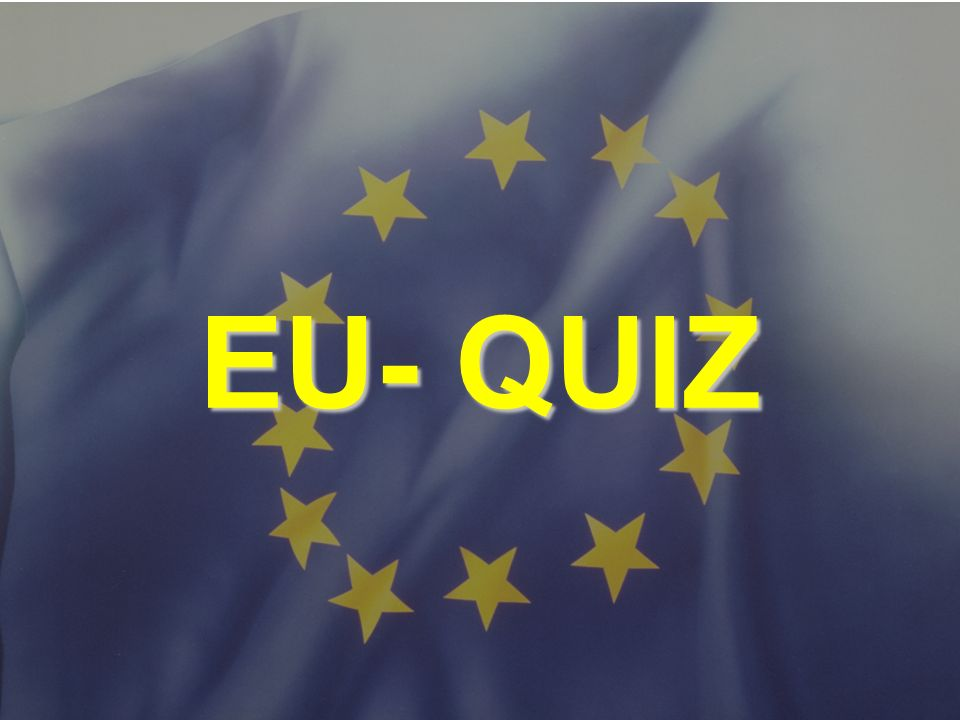 EU- QUIZ © Stefan Mayer / EK 2010