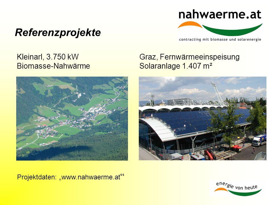 """Projektdaten: """"www.nahwaerme.at"""