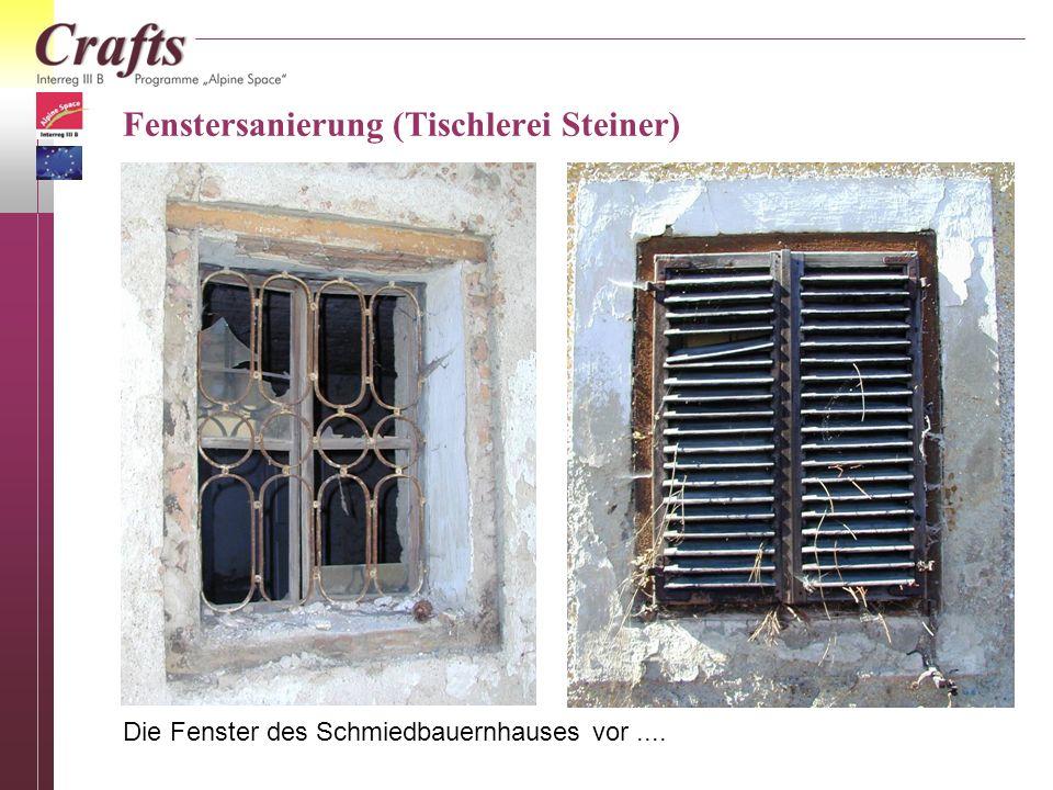Fenstersanierung (Tischlerei Steiner)
