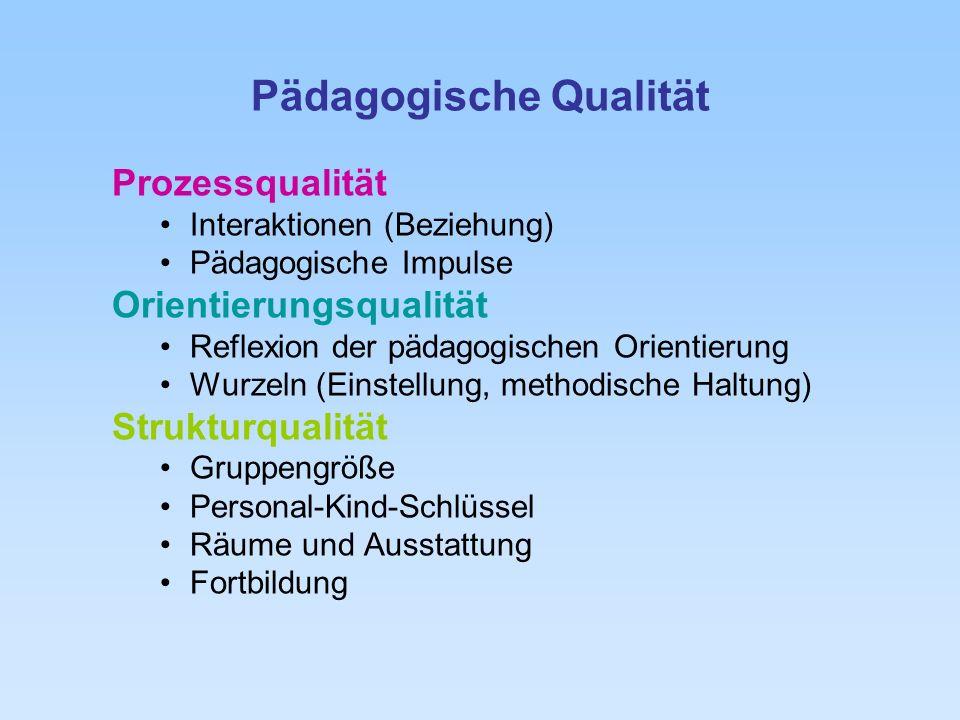 Pädagogische Qualität