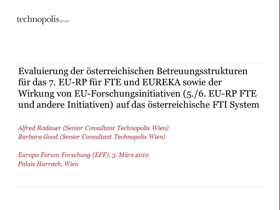 Evaluierung der österreichischen Betreuungsstrukturen für das 7