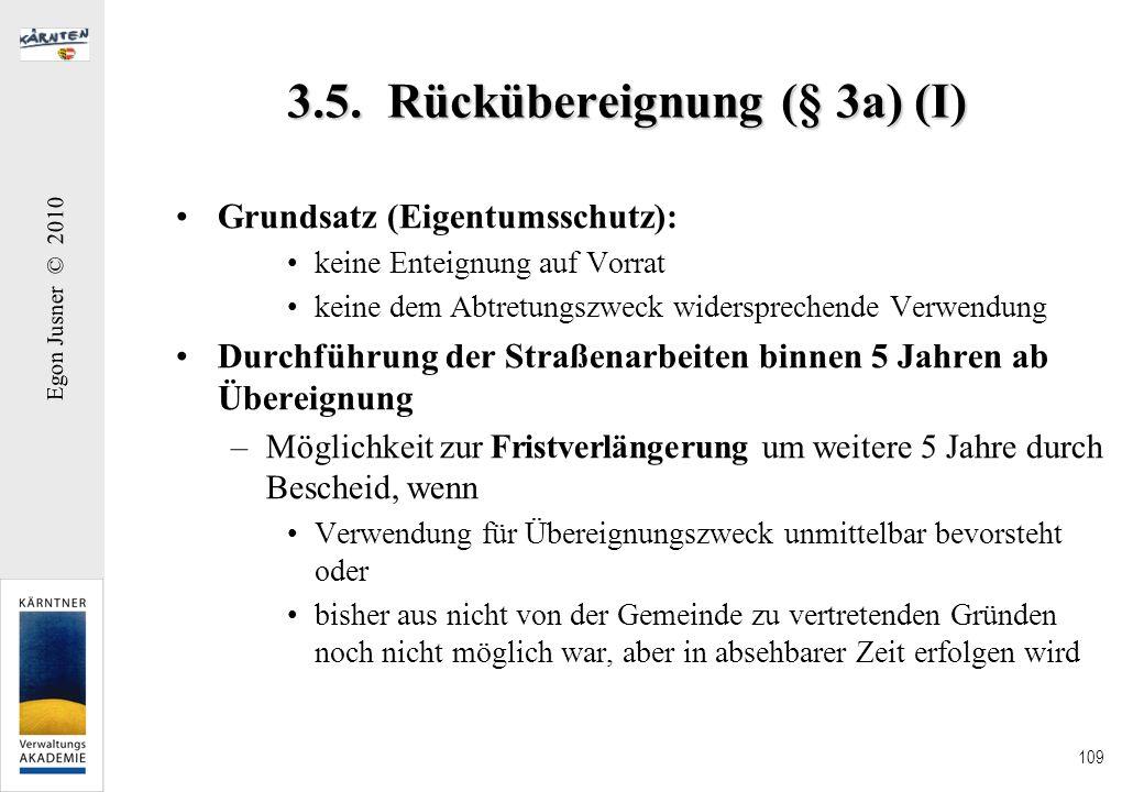 3.5. Rückübereignung (§ 3a) (I)
