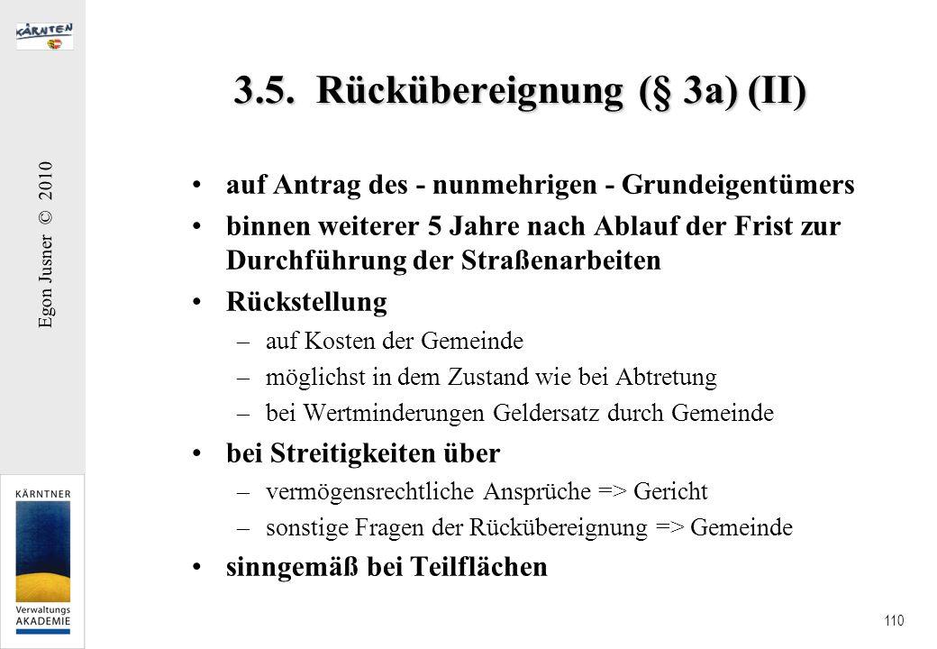 3.5. Rückübereignung (§ 3a) (II)