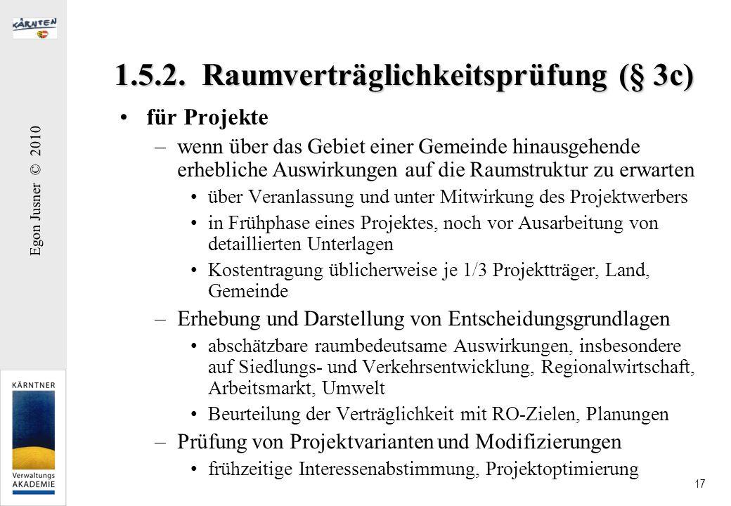 1.5.2. Raumverträglichkeitsprüfung (§ 3c)